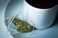 Still life with yerba mate green tea