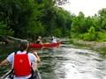 Canoeing Jack Forks River