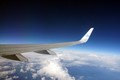 Wing at 40000 ft