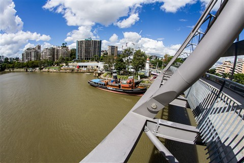 Brisbane River Goodwill Bridge