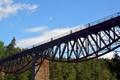 bike on the bridge