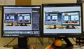 Fourteen monitors
