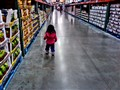 at the store...