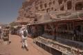 souvenir vendors at Petra