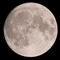 Full moon - single shot: 600mm equivalent ~5x cropped, 0.7MP remaining