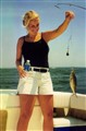Kelly with Small Fish
