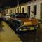 Baracoa street at night