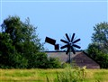 windmill in Friesland (Ned)