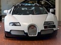 Bugatti Veyron in Matt White and Black