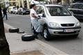 Quick tyre change