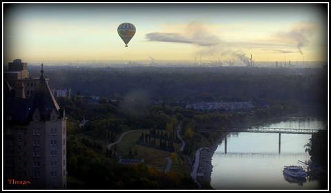 Ballooning in Edmonton