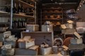 Cheese stal. Blaak Market, Rotterdam