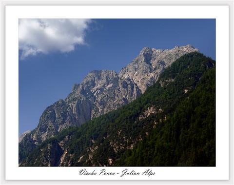 Visoka Ponca - Julian Alps, Slo