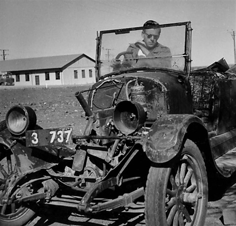 1953 Oldtimer in Radium Hill, Australia