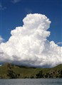 Cumulus bursting over Coromandel