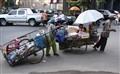 Street family, Phom Penh.