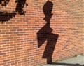 Brick Wall & Lamp Shadow
