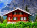 The hut in the Alps