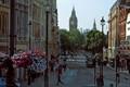 London street & Big Ben