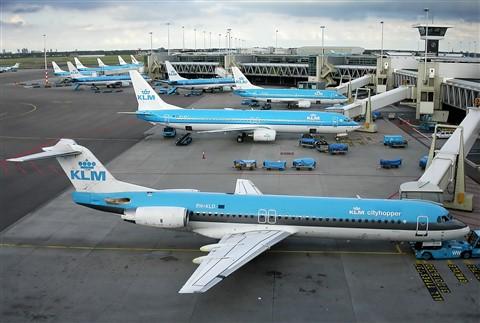 DSCN1460 Schiphol KLM Fleet f