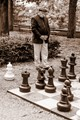 Chess Game on the Street
