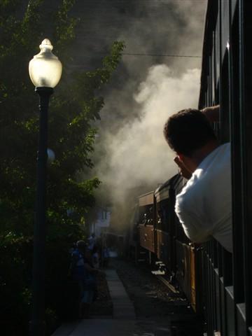 smoke, steam and shake