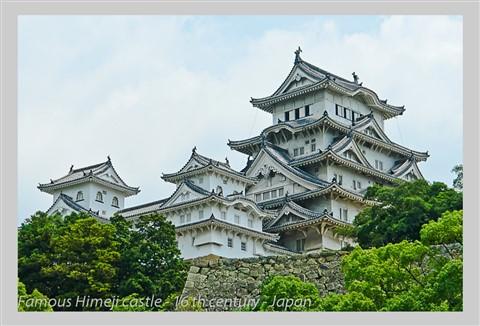 Himeji Castle - 16 th century - Japan