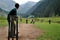 Cricket in Kashmir