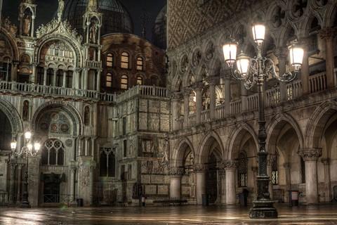 Venice after rain