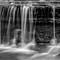 Water Fall Long Exposure B&W