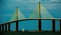 Sunshine Skyway with Sail _ Florida