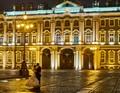 Wedding kiss at the Winter Palace