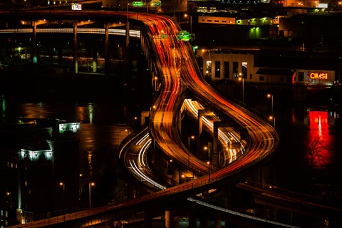 Marquam At Night DP Challenge