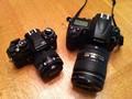 Nikon FA and D700