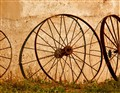 Rusty Wagon Wheels