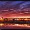 sunset fz28 hdr