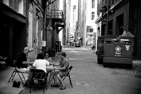 playin cards in alley (1 of 1)
