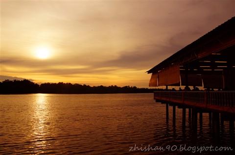 Sunset @ Kuala Selangor River