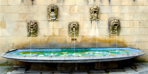 5 fountains in Luxembourg