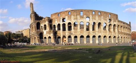 Colosseum Rome Panorama