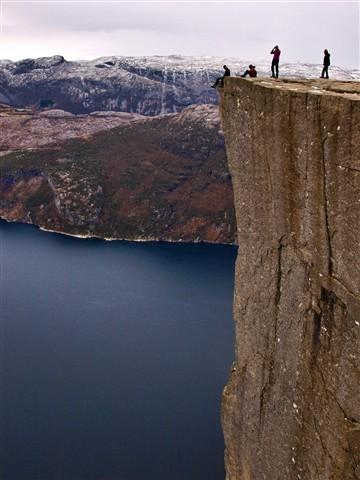 noorwegen prekestolen