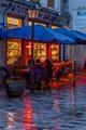 Rain @ Rue des Rosiers