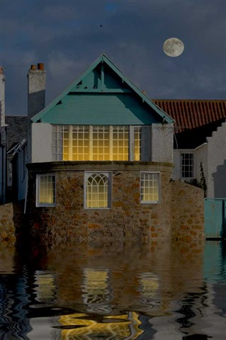 Cottage-Scene
