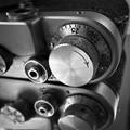 Metal old camera