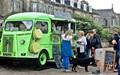 Little green van