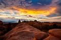 Sunset over Sandstone