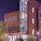 Regional Arts Commission building, in the Delmar Loop District, in Saint Louis, Missouri, USA - exterior at night