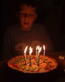 9 candles