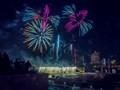 Fireworks on the Mississippi