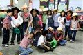 Cowboy day in San Pedro Sula's Great Commission Academy School, Honduras